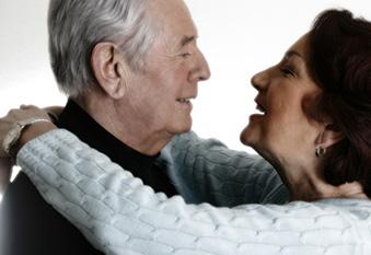 Ehepaar im Ruhestand